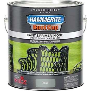 Smooth Enamel Finish, Gray ~ Gallon