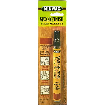 Wood Finish Stain Marker,  Red Mahogany Color