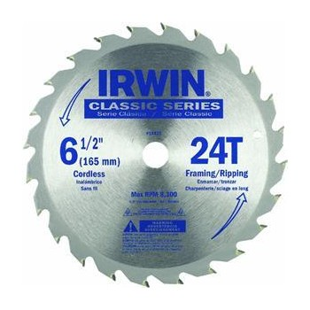 "Saw Blade,  Classic Series  6 1/2"" ~ 24T"