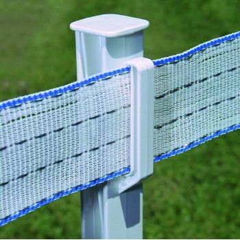 "Step-In Fence Post, 48"" ~ White"