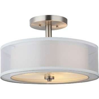3-Light Semi-Flush Fixture ~ El Dorado