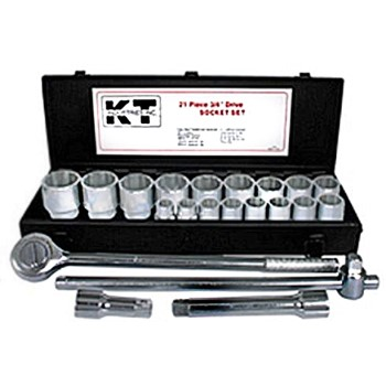 "3/4"" Drive Metric Socket Set ~ 21 Piece"