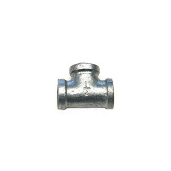 Tee, Galvanized Steel - 1/2""