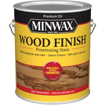 Wood Finish -  English Chestnut, Gallon