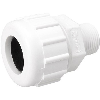 161104 3/4in. Pvc M Comp Adapter