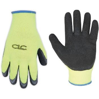 CLC 2339L Lg Hi-Viz Ltx Grip Glove