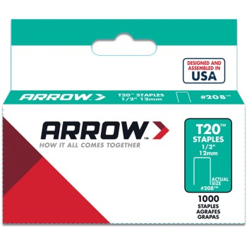 Staples - Narrow Flat Crowned - 1/2 inch