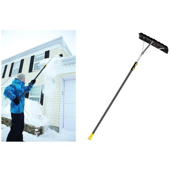 True Temper Telescoping Snow Roof Rake ~ 24""