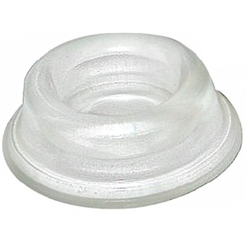 Clear Frosted Cushion Door Stop ~ 1.75""