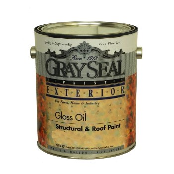 Buy The California Prod Grayseal 623 Structural Roof Paint Gloss Oil Black Gallon