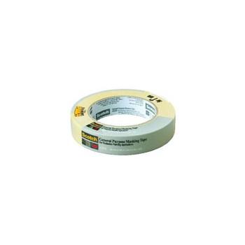 3M 021200711606 Masking Tape - General Purpose -  1 inch x 60 yard