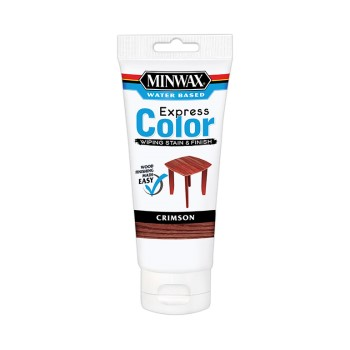 Minwax Wiping Stain, Crimson ~  6 oz.
