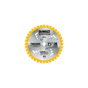 Construction Saw Blade, 7-1/4 inches