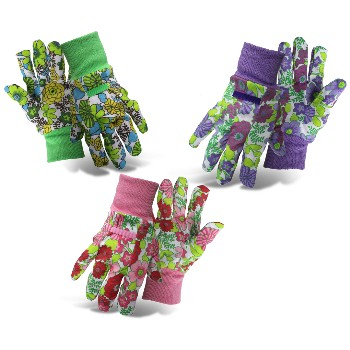 Ladies Garden Gloves, 100% Cotton