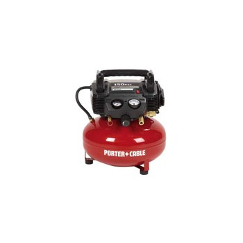 Porter Cable C2002 Air Compressor, Oil Free ~ 6 Gallon