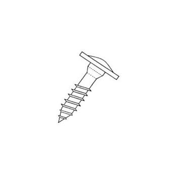 GRK Fasteners CAB8212P Cabinet Screw, 8 x 2-1/2 inch