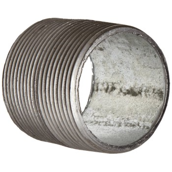 "Pipe Nipple,  Galvanized Steel ~ 1/2""  x 5"""