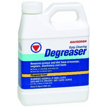 Degreaser/Cleaner,  Concrete & Asphalt ~ Quart