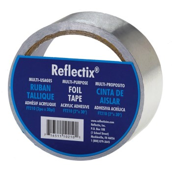 "Foil Reflective Insulation  Tape ~ 2"" x 30 Ft Roll"