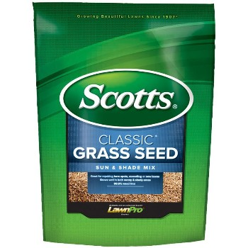 Scotts Miracle-Gro SI17185 Classic Sun & Shade Grass Seed ~ 7 Lb Bag