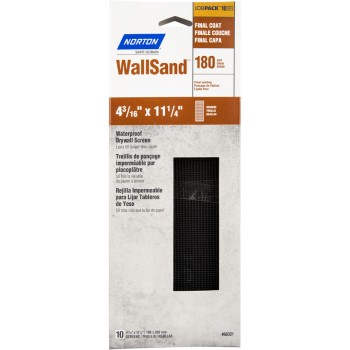 68321 10pk 180g Drywall Screen