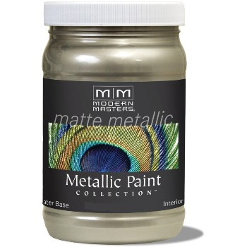Matte Metallic Paint ~ Champagne, 6 oz