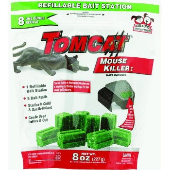 Tomcat Refillable Bait Station