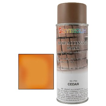 Roof Paint, Cedar ~  Spray