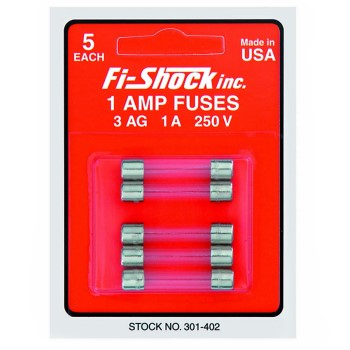 Time Delay Fuse  5 / Card, 1 Amp