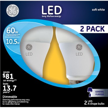 LED Light Bulb - 60 watt ~ 2 pack