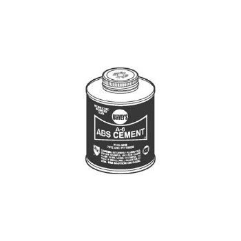 ABS Cement, Black 1/2 Pint
