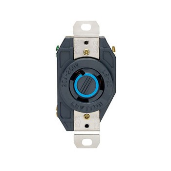 Locking Flush Receptacle - 20 Amp