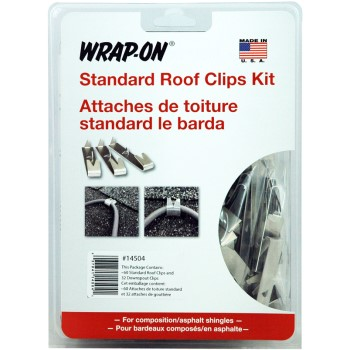 Wrap-On Co Inc 14504 Std Roof/Downspout Clips