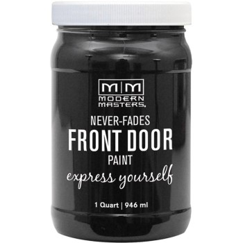 Express Yourself Front Door Satin Paint, Elegant ~ Quart