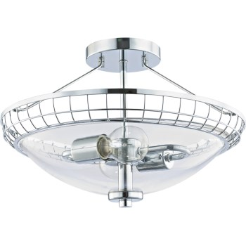 Chrome Ceiling Fixture