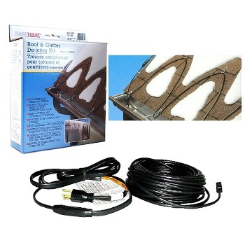 EasyHeat ADKS-1000 Roof De-Icer Cable, Electric ~ 200 Ft