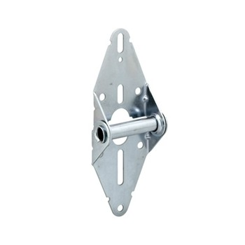 Garage Door Hinge # 1  - Galvanized Steel - 14 gauge