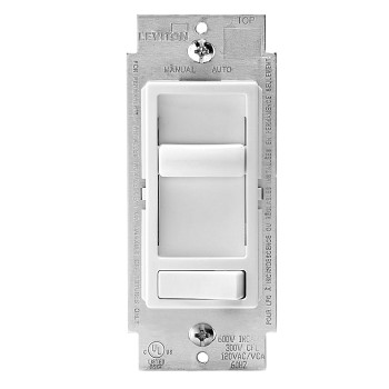 SureSlide Dimmer, Single Pole & 3-Way, White