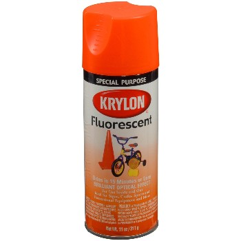 Buy The Krylon 3102 Fluorescent Spray Paint Yellow