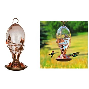 Perky Pet®   Avant Garden Looking Glass Hummingbird Feeder, Glass - 32 ounce