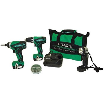 Hitachi/Metabo HPT KC10DFL2 12v Drill Impact Kit