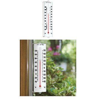 Chaney/AcuRite 00330 Thermometer ~ Outdoor w/Swivel Bracket -  8.5""