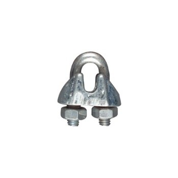 Cable Clamp, Zinc ~ 5/16""