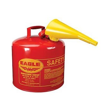 Safety Red Fuel Can ~ Five Gallon