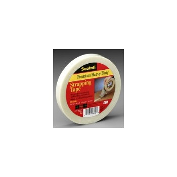 Strapping Tape - Commercial Filament - 0.5 inch x 60 yard