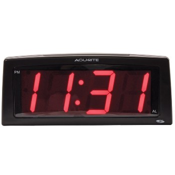 Chaney/AcuRite 13003 Alarm Clock - Black