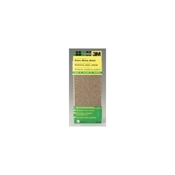 3M 051144090174 Aluminum Oxide Sanding Sheets, 3 2/3 x 9 inch