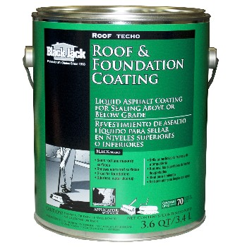 Roof & Foundation Coating ~ Gallon (3.6 Qts)
