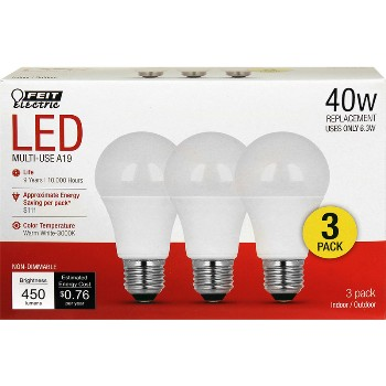 LED Bulbs, Non Dimmable ~ 450 Lumens