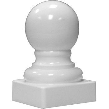 Ball Post Top - 4 inch